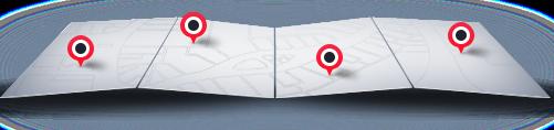 mapa centrum